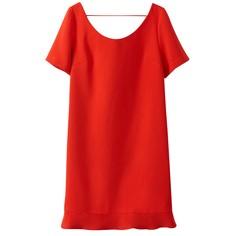 Платье с короткими рукавами и глубоким вырезом сзади SEE U Soon