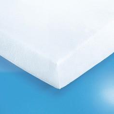 Наматрасник натяжной из эластичной махровой ткани, 400 г/м², с пропиткой из непромокаемого ПВХ Reverie