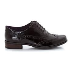 Ботинки-дерби лакированные Hamble Oak Clarks