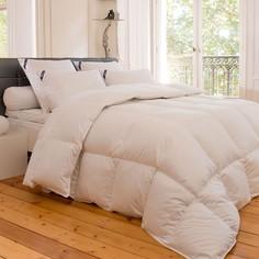 Одеяло из натурального материала «Univers». Качественный и натуральный белый гусиный пух . Drouault