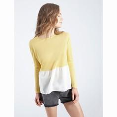 Пуловер двухцветный Amarillo Stonem Compania Fantastica