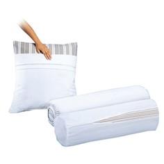 Чехол защитный на подушку из махровой ткани, 100% хлопок La Redoute Interieurs