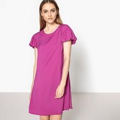 Платье прямое с оригинальными рукавами Mademoiselle R