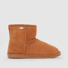 Ботинки из кожи с мехом Flocon LES Tropeziennes PAR M.Belarbi