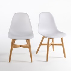 Комплект из 2 стульев для сада с сиденьем в форме раковины, Jimi La Redoute Interieurs