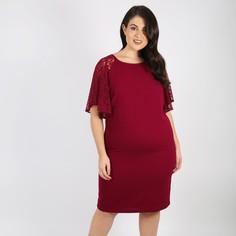 Платье-миди прямое с короткими рукавами Lovedrobe