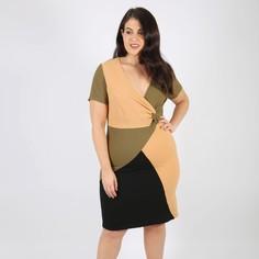 Платье прямое средней длины с короткими рукавами Lovedrobe