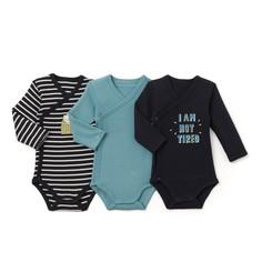 3 боди для новорожденных, 0 мес. - 3 года La Redoute Collections
