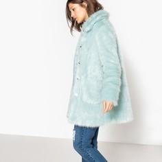Пальто из цветного искусственного меха Mademoiselle R