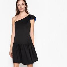 Платье расклешенное с воланом Mademoiselle R