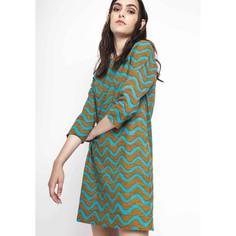 Платье прямое короткое, с рукавами 3/4 Compania Fantastica