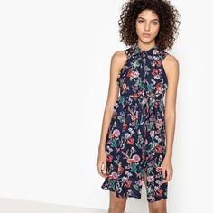 Платье расклешенное средней длины, без рукавов SEE U Soon