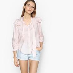 Рубашка прямого покроя с круглым вырезом и длинными рукавами Pepe Jeans
