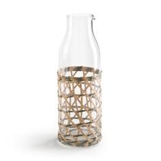 Графин для воды из стекла с плетеным обрамлением QUALIMNA La Redoute Interieurs