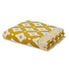Полотенце банное большое из жаккардовой ткани IKA La Redoute Interieurs