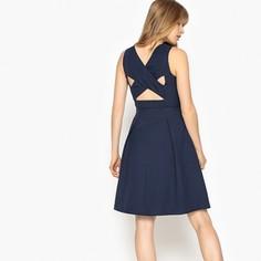 Платье расклешённое с перекрестными деталями сзади Mademoiselle R