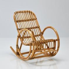 Кресло-качалка детское из ротанга, Malu La Redoute Interieurs