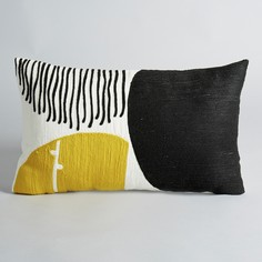 Чехол на подушку с вышивкой Mihnéa Am.Pm.