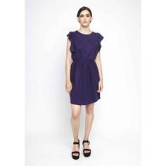 Платье с элестичной талией икороткими рукавами-воланами Compania Fantastica