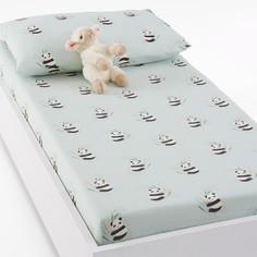 Простыня натяжная для детской кроватки с рисунком панды VICTOR La Redoute Interieurs