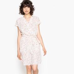 Платье-кимоно с принтом с эффектом блузки Mademoiselle R