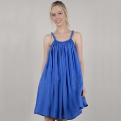 Платье расклешенное короткое на тонких бретелях Molly Bracken