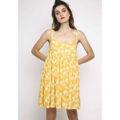Платье короткое с рисунком, без рукавов, на тонких бретелях Compania Fantastica