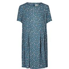 Платье короткое прямое с короткими рукавами Numph