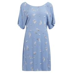 Платье струящееся с короткимим рукавами Vila