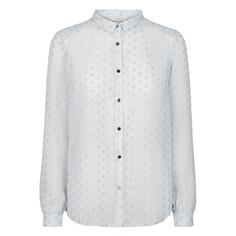 Рубашка в блестящий горох с длинными рукавами ARAZOA Numph