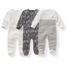 3 пижамы из хлопка с принтом - Oeko Tex La Redoute Collections