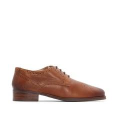 Ботинки-дерби кожаные Netley Rose Clarks