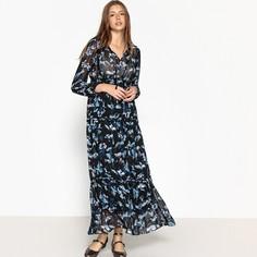 платье длинное с цветочным принтом CHLOE Suncoo