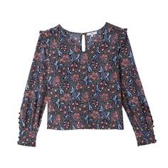 Блузка с принтом в этническом стиле LINA Suncoo