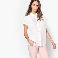 Рубашка объемного покроя в стиле бойфренд, с короткими рукавами Mademoiselle R