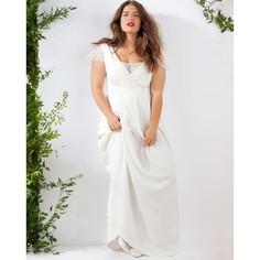 Длинное свадебное платье Castaluna
