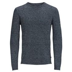Пуловер с круглым вырезом из тонкого трикотажа Jack & Jones