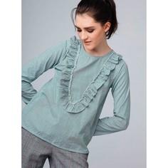 Блузка в полоску с воланами Compania Fantastica