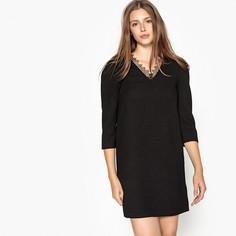 Платье прямое с глубоким вырезом сзади CELINE Suncoo