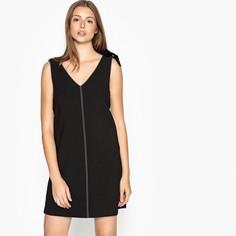 Платье прямое короткое без рукавов Suncoo