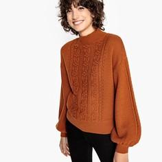 Пуловер с круглым вырезом и свободными рукавами Mademoiselle R