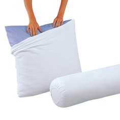 Чехол защитный на подушку из махровой ткани с обработкой BI-OME La Redoute Interieurs