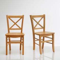Комплект из 2 стульев из массива бука Perrine La Redoute Interieurs