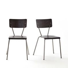 2 стула в винтажном стиле, Hiba La Redoute Interieurs