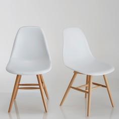 Комплект из 2 пластиковых стульев, Jimi La Redoute Interieurs