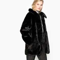 Укороченное пальто с искусственным мехом Mademoiselle R