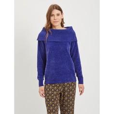 Пуловер трикотажный с открытыми плечами Vila