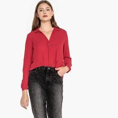 Блузка с рубашечным воротником и длинными рукавами Best Mountain