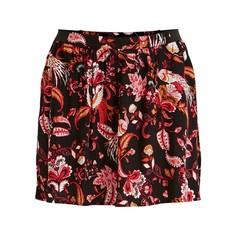 Короткая юбка с цветочным принтом Vila