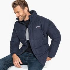 Куртка стеганая короткая NEBRASKA с воротником-стойкой на молнии Schott